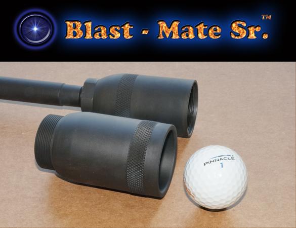 Blast-Mate Golf Ball Launcher