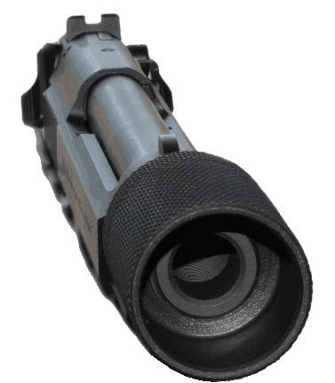 Blast-Mate, Jr on hand gun